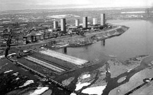 Сток воды промышленного охлаждения (Норильский горно-металлургический комбинат)
