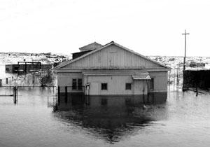 Наводнение 1999 г. в Дудинке