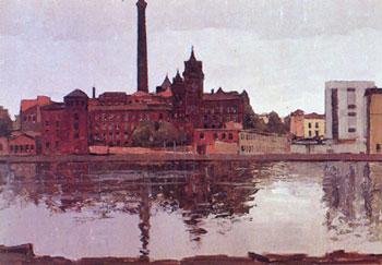 Г. Манизер. Ленинград. Выборгская сторона, завод «Компрессор». 1970-е годы