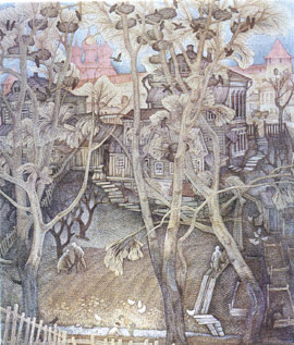 Ю.В. Кузьмин. Зарайск. 1971