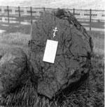 Памятный знак в честь основания города на стрелке Енисея и Качи