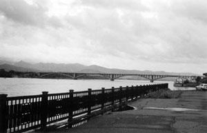 Первый автодорожный мост через Енисей (Коммунальный мост)